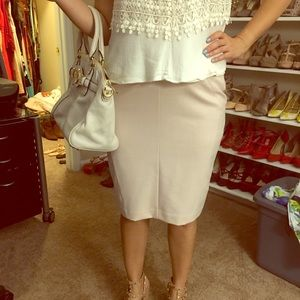 Worthington blush Pink/Cream skirt